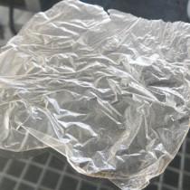 Plástico biodegradable hecho de agave