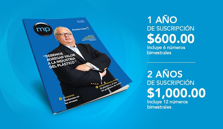 Suscripcion Revista MP 2018
