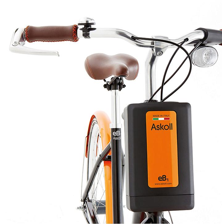 THERMOLAST K ayuda a Askoll a innovar la movilidad eléctrica de bicicletas