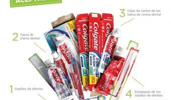 Colgate lanza una campaña para reciclar tubos de pasta y cepillos dentales