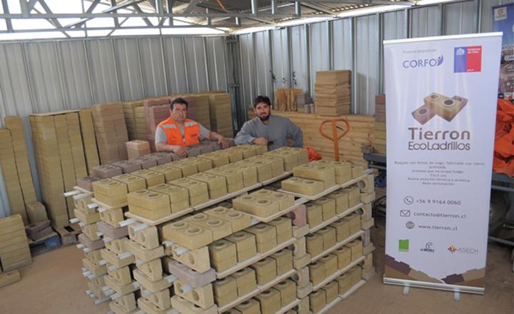 En Chile se crea un ladrillo ecológico