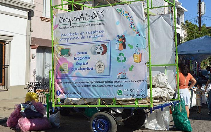 Mercado Orgánico Madero recibirá plásticos