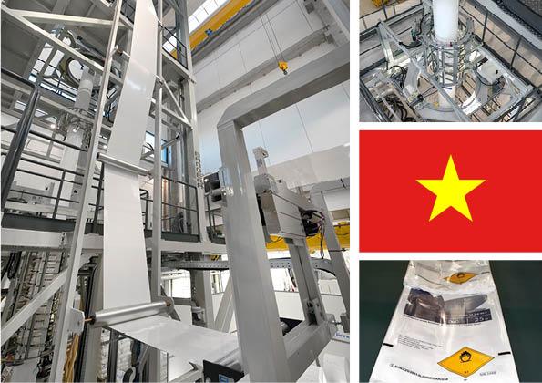 Bandera vuelve al mercado vietnamita con una línea de film soplado