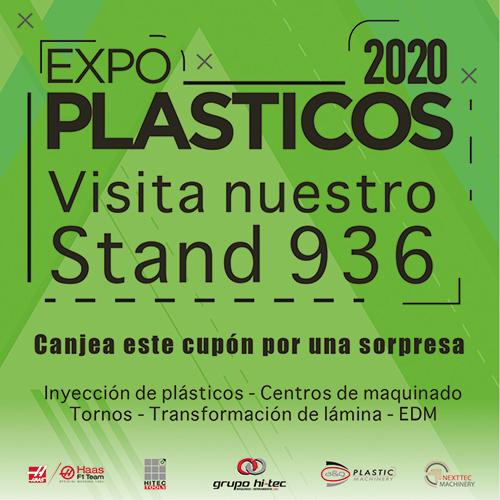 Grupo HI-TEC en Expo Plásticos 2020