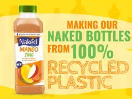 PepsiCo utilizará botellas de plástico 100% reciclado