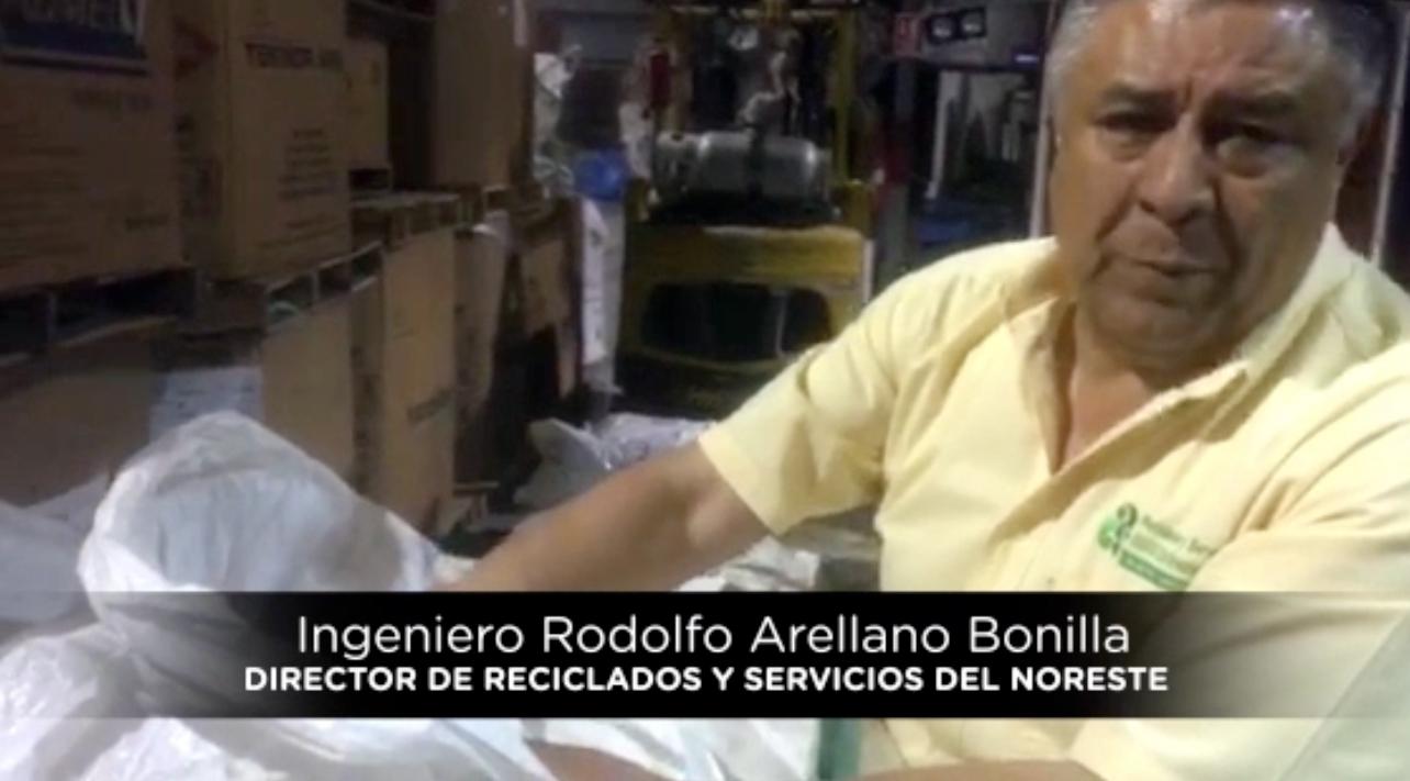 Ingeniero Rodolfo Arellano Bonilla / Director de Reciclados y Servicios del Noreste