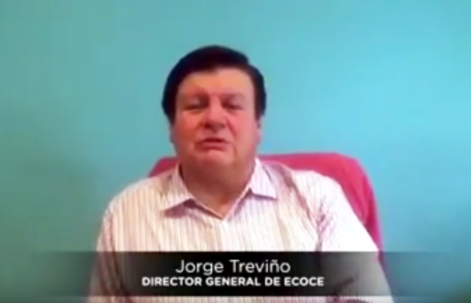 Ingeniero Jorge Treviño / Director general de ECOCE