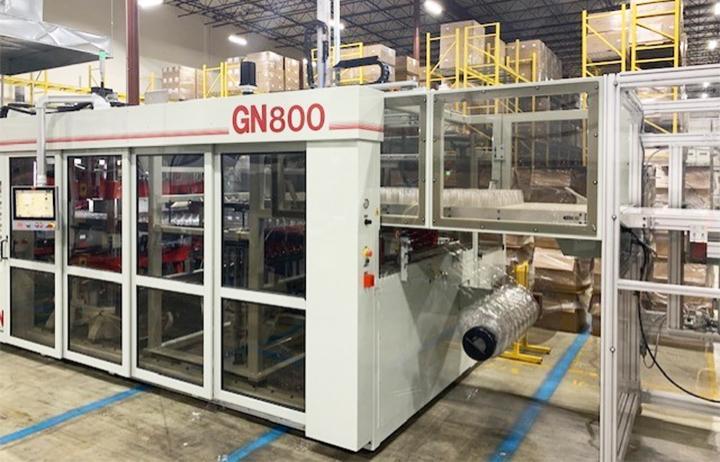 El nuevo termoformador GN800 aumenta la velocidad y la producción de SupplyOne Plastics