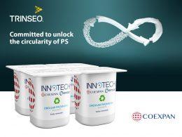 Trinseo y Coexpan trabajan en tecnologías de reciclaje de poliestireno