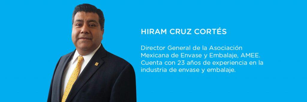 Hiram Cruz Cortés, director general de la Asociación Mexicana de Envase y Embalaje, AMEE.
