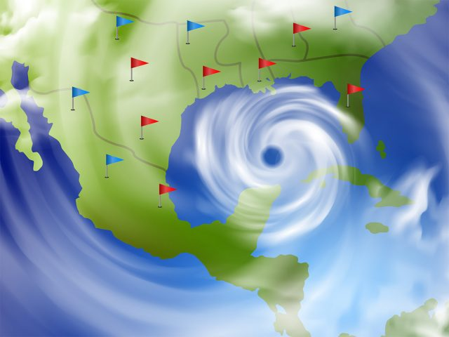 Petroquímicos de Luisiana monitorean el huracán Ida